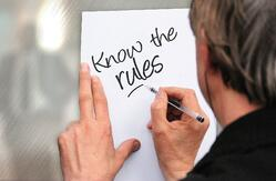know the rules whiteboard-1752406_1920_Image by Gerd Altmann from Pixabay